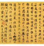 The Orchid Pavilion, No 1 Semi-cursive Script (Running Script) in Chinese Calligraphy History, Chu Suiliang Facsimile edition, Tang Dynasty